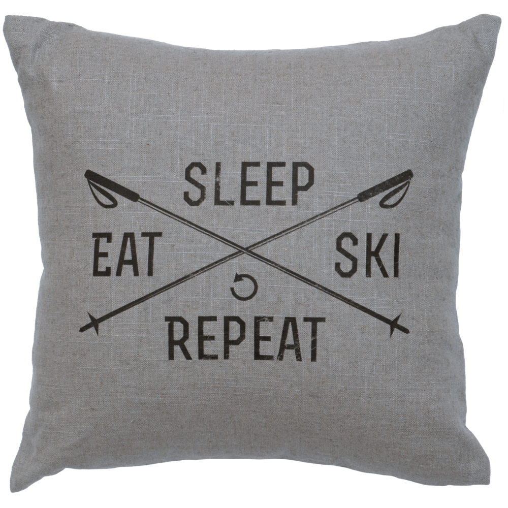 Sleep, Eat, Ski, Repeat - #WD80026-G, #WD80026-N, #WD80026-O, #WD80026-P, #WD80026-S