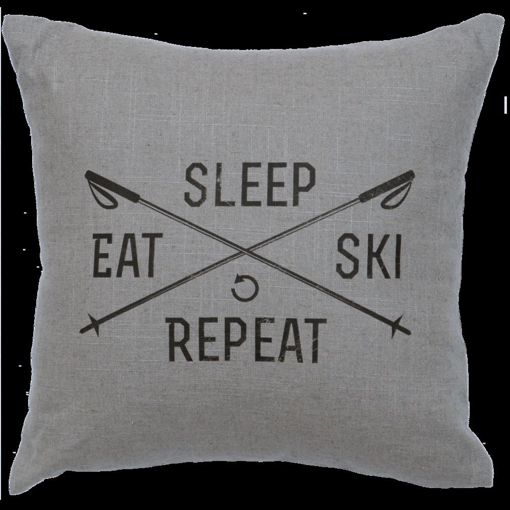 Sleep, Eat, Ski, Repeat - #WD80026-G, #WD80026-N, #WD80026-O, #WD80026-P, #WD80026-S