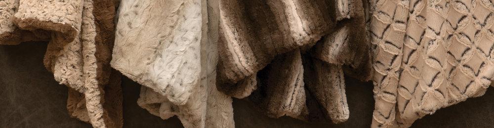 Cuddle Fur Throws & Pillows