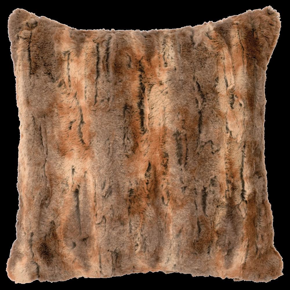 Amber Fox Cuddle Fur Pillow - 18