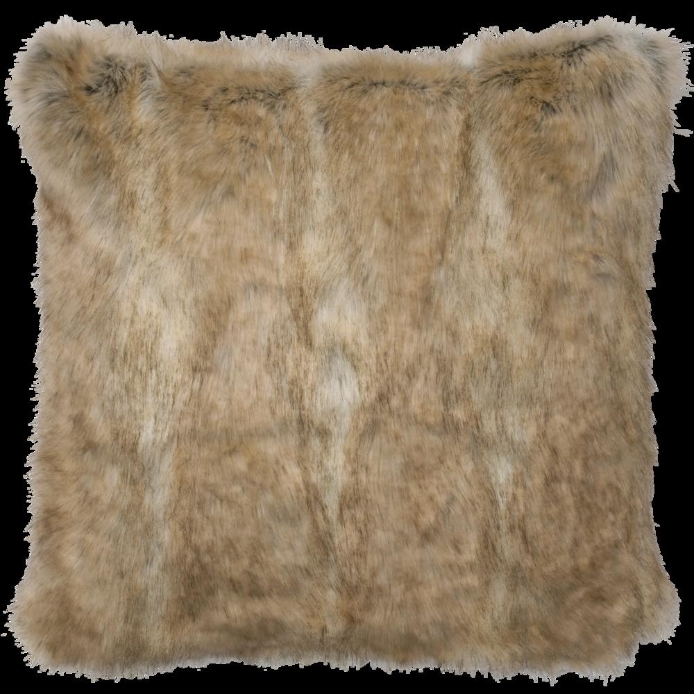 Canadian Stone Fox Faux Fur Euro - 26