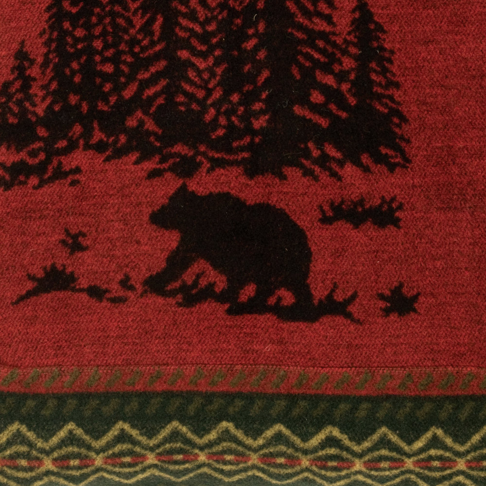 Wooded River Bear (Wool-Blend)