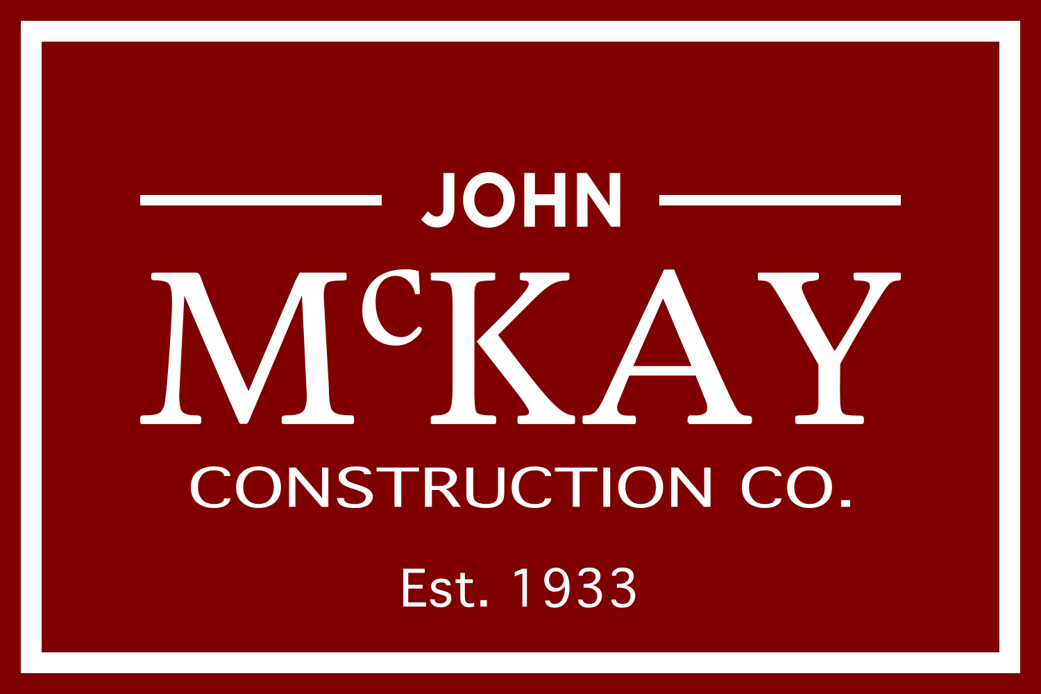 John McKay Construction Co.