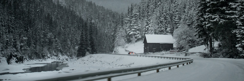 Snowy Roads - Henddalen, Norway