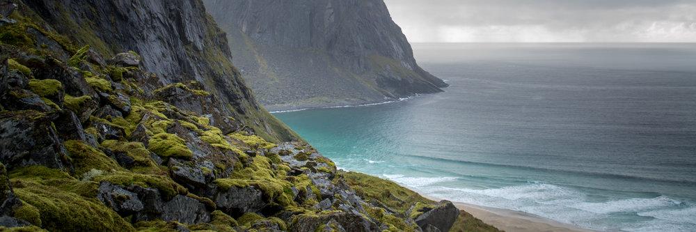 Hidden Beach - Lofoten, Norway