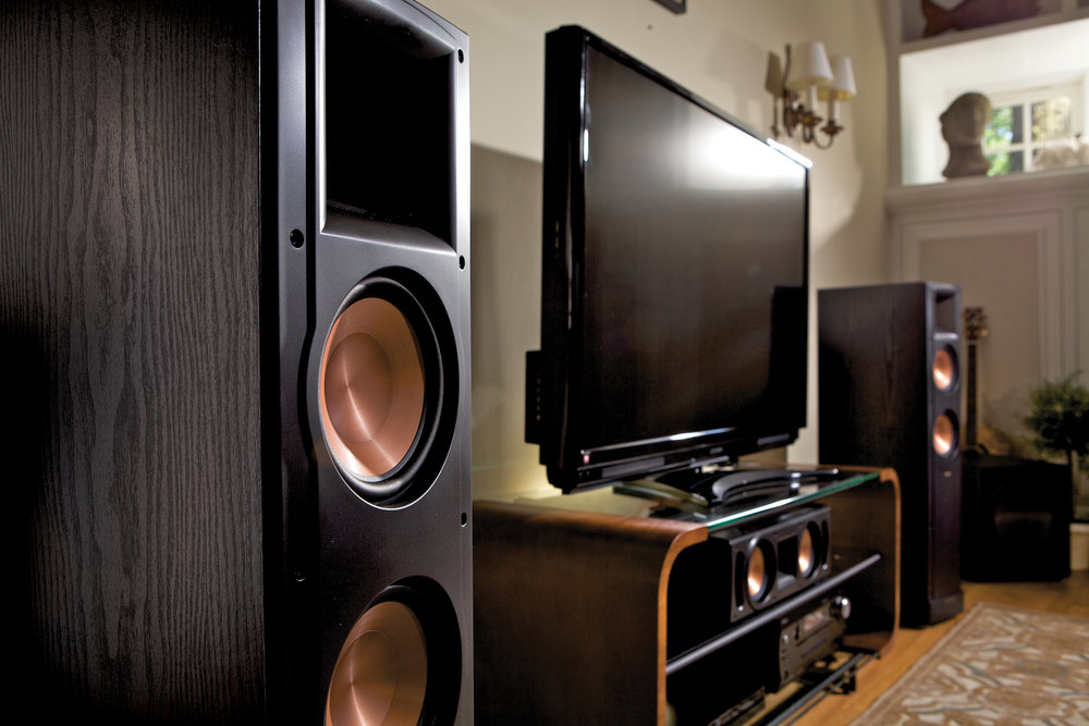 Speakers courtesy of Klipsch