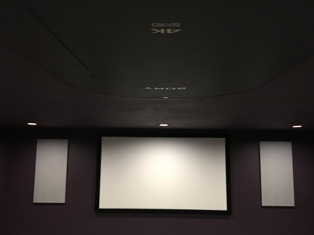 Sound panel installation by 3D Smart Homes
