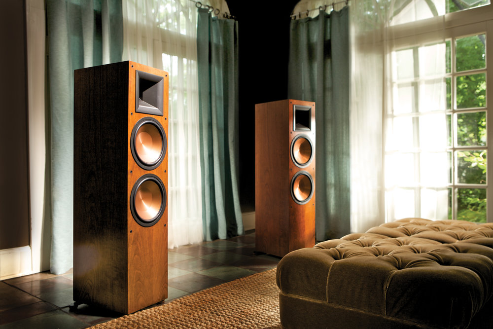 Reference speakers courtesy of Klipsch