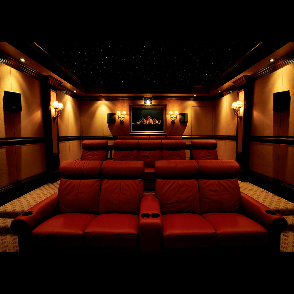 Home Theater Seating photo courtesy of Klipsch