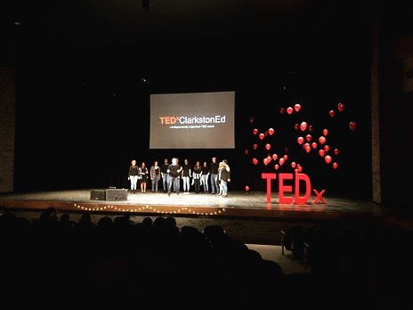 It was an honor to perform at #TEDxClarkstonEd today! Thanks for having us. 😊