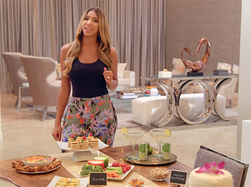 WATCH:  BRUNCH WITH THE BALLER WIVES [:30 spot]      ART DIRECTION + FOOD CREATION / STYLING  that included appetizers, desserts and the featured Lime-a-Rita beverage.