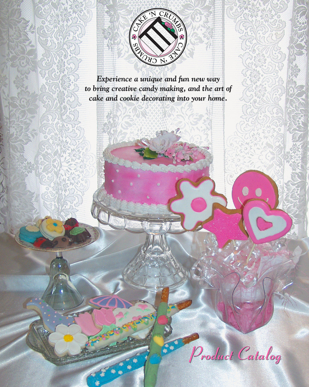 ART DIRECTION + FOOD STYLING   for Cake 'n Crumbs 56-page product catalog.