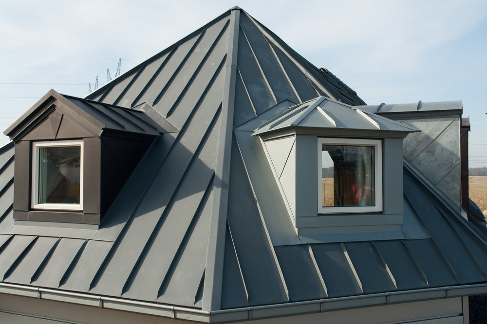 METAL - If you are in the market for a roof that is striking and sophisticated while easy to maintain, energy efficient through the long hot Texas summers and provides a long lasting warranty, a metal roof is the option for you. ↴