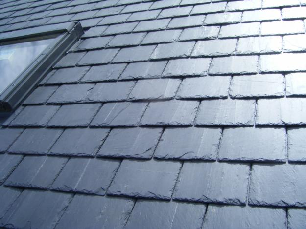 Natural Slate Roof Tiles... - are beautiful, heavy and can completely compliment any architectural style. A slate roof is a major financial commitment therefore its important to weigh all of the pros and cons of choosing a natural stone material for your roof.