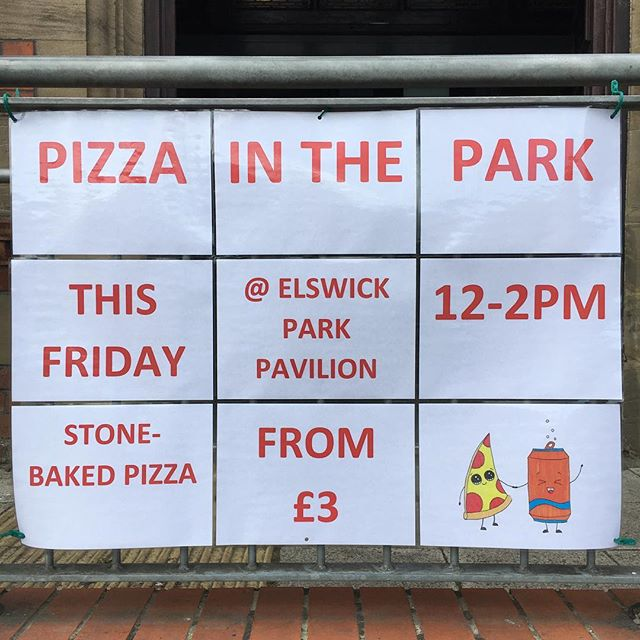 Yes, yes, this Friday! Are you joining us? #PizzainthePark #summerholiday #whatsonWestEnd
