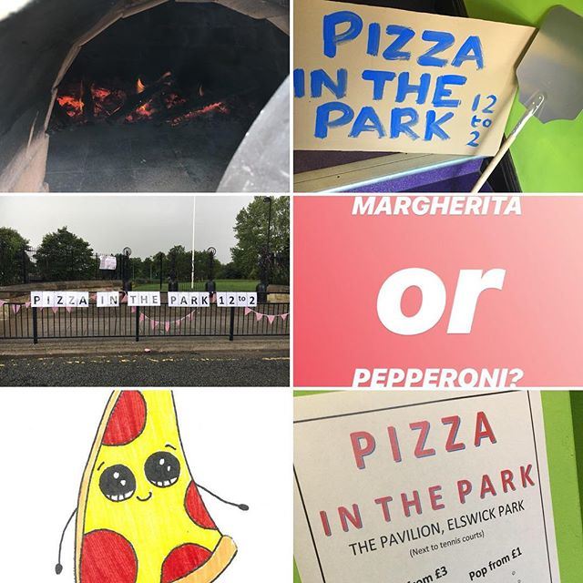 Last #PizzainthePark today, now until 2pm!