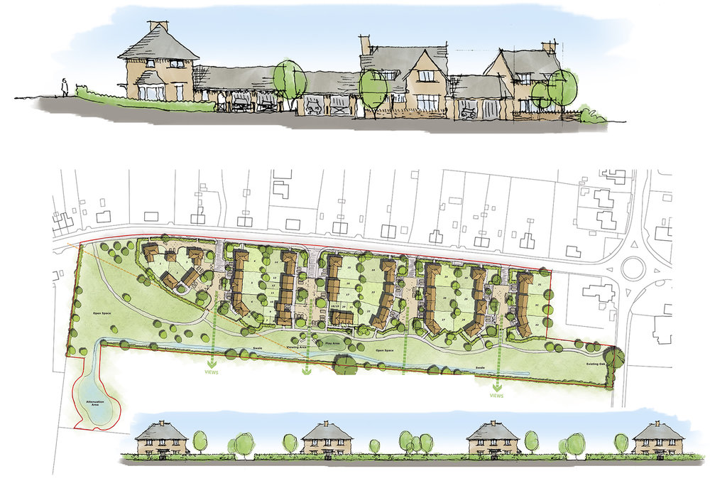 Because a modern development can still be a place where communities can grow. -