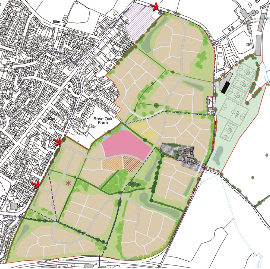 """the development at Coalpit Heath provides an opportunity to create sustainable development that is well related to neighbouring communities"" - - Barton Willmore"