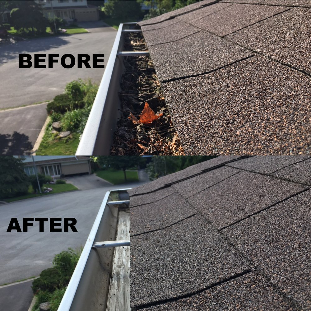 before and after eaves
