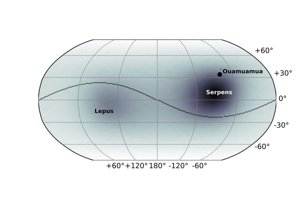 Figure 2:  Skymap