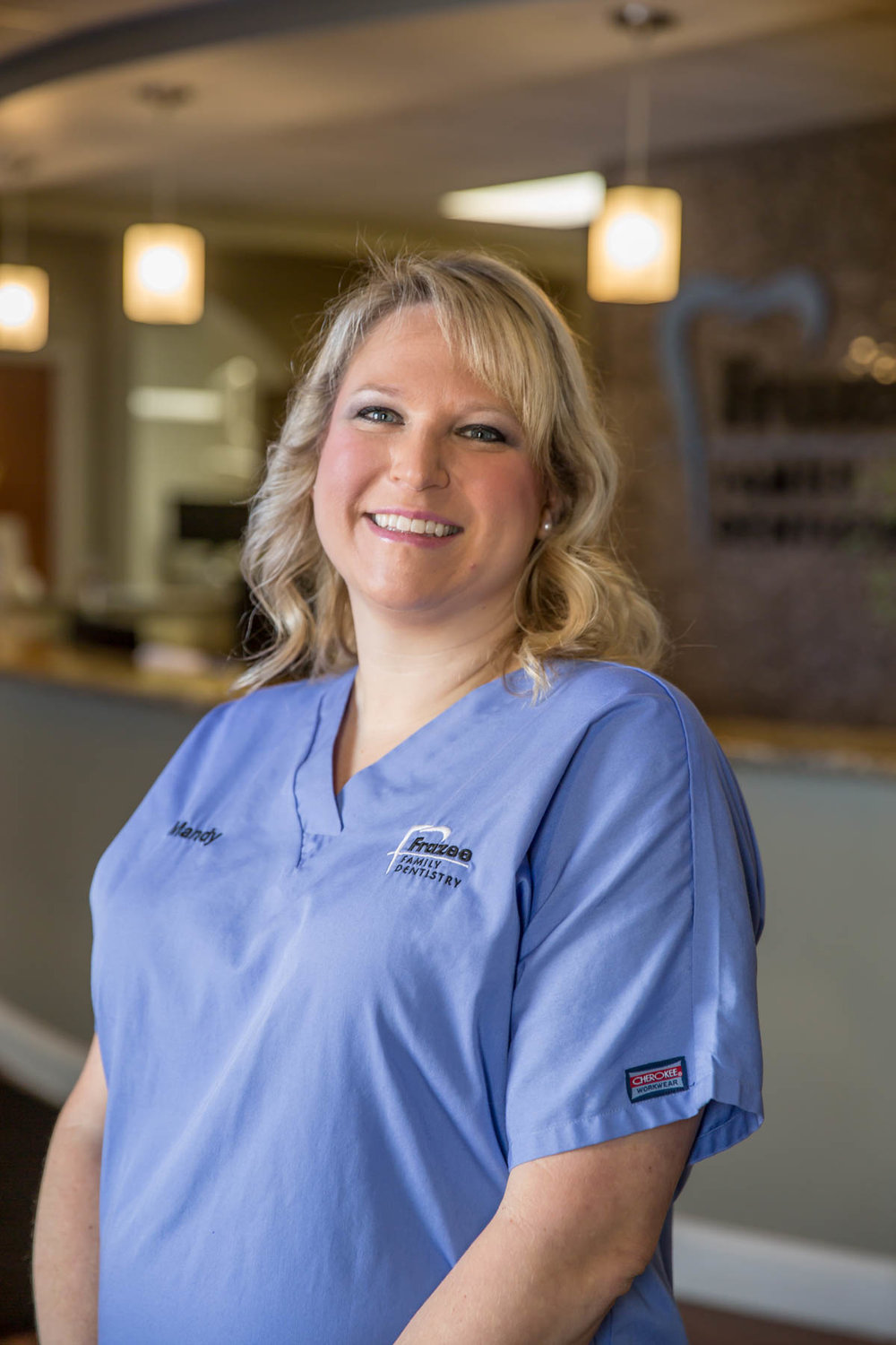 Meet Mandy at Frazee Family Dentistry.