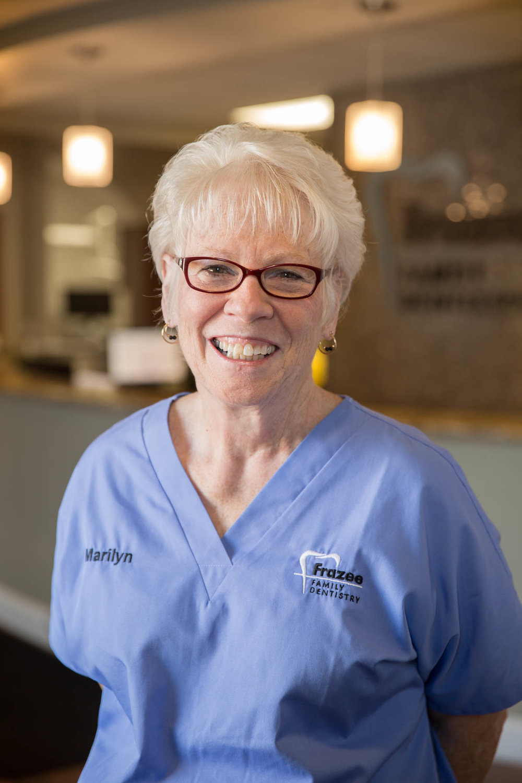 Meet Marilyn at Frazee Family Dentistry.
