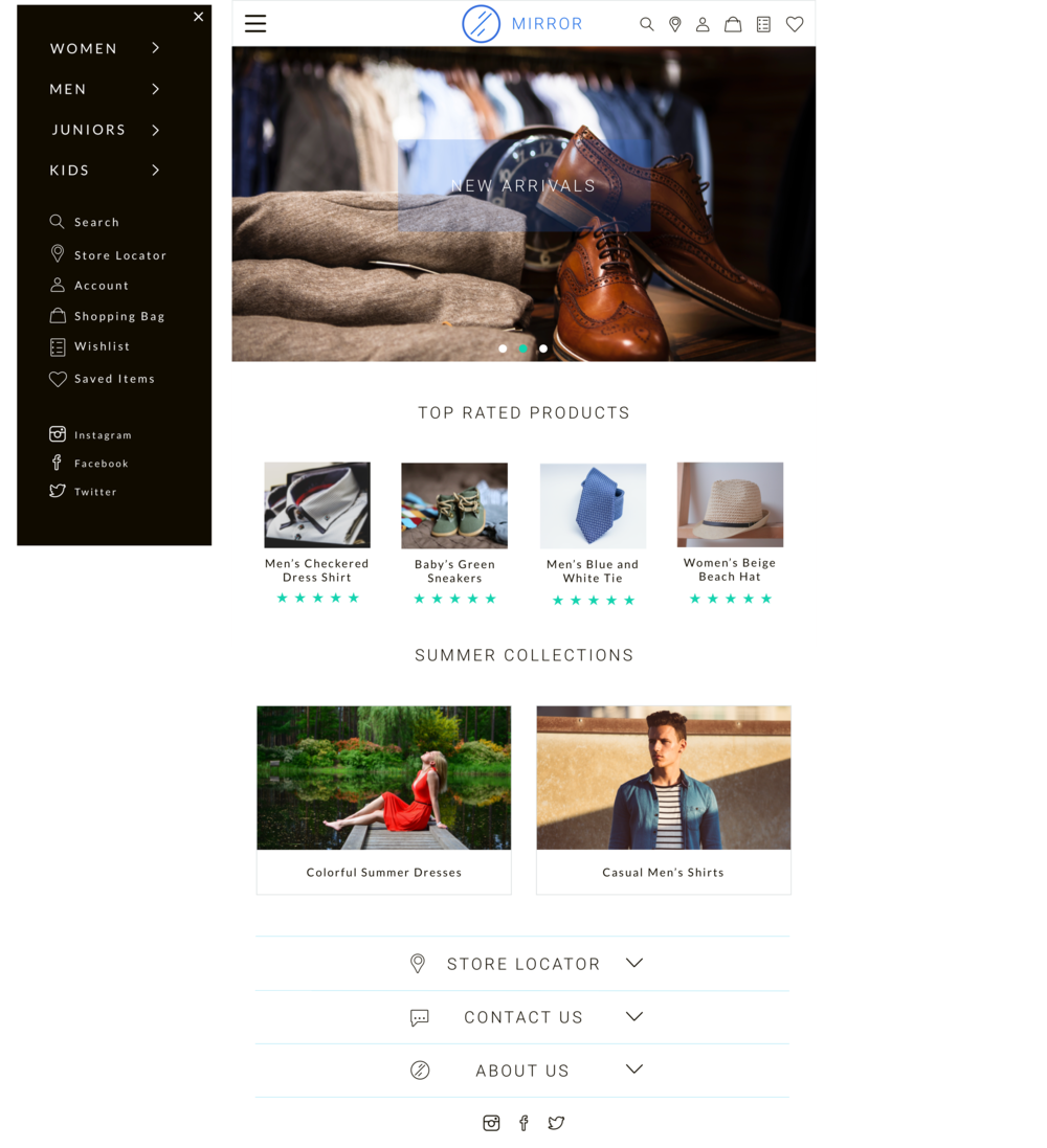 Small Devices Homepage