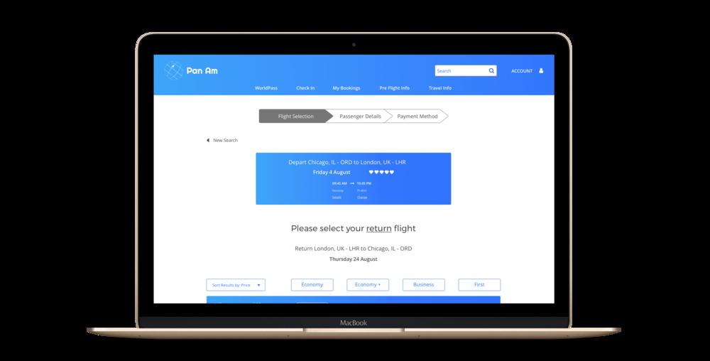 Return Flight Results