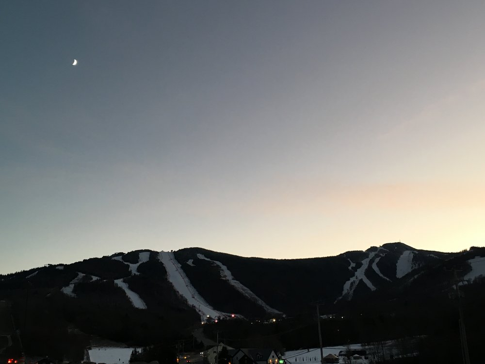 Dawn of Day One at the Killington FIS Women's World Cup, 2017.