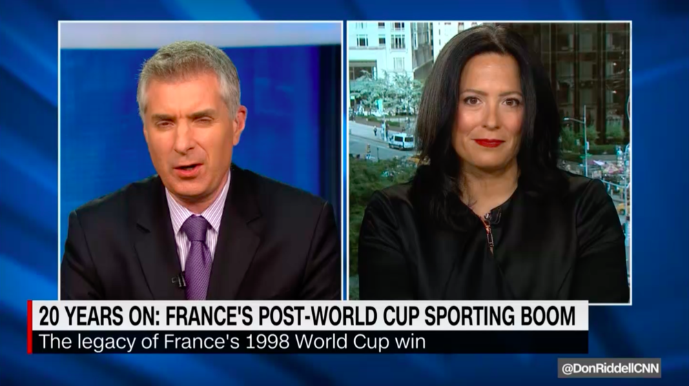 """CNN World Sport """"20 Years On: France's Post-World Cup Sporting Boom"""""""