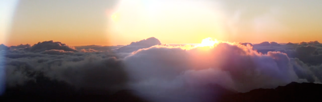 maui hawaii mount haleakana sunrise wedding pic 01