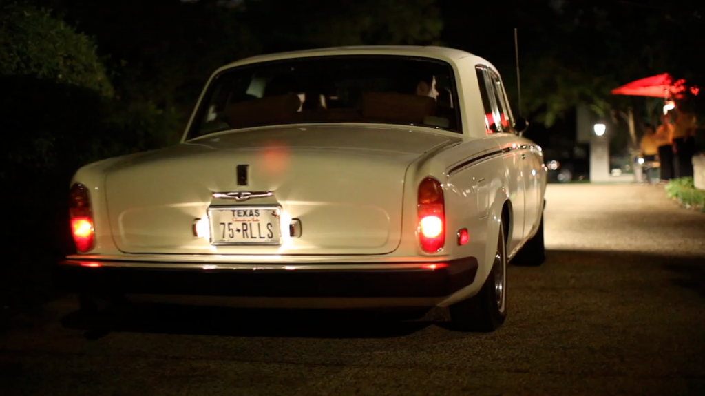 san antonio alamo heights wedding video pic 06 car