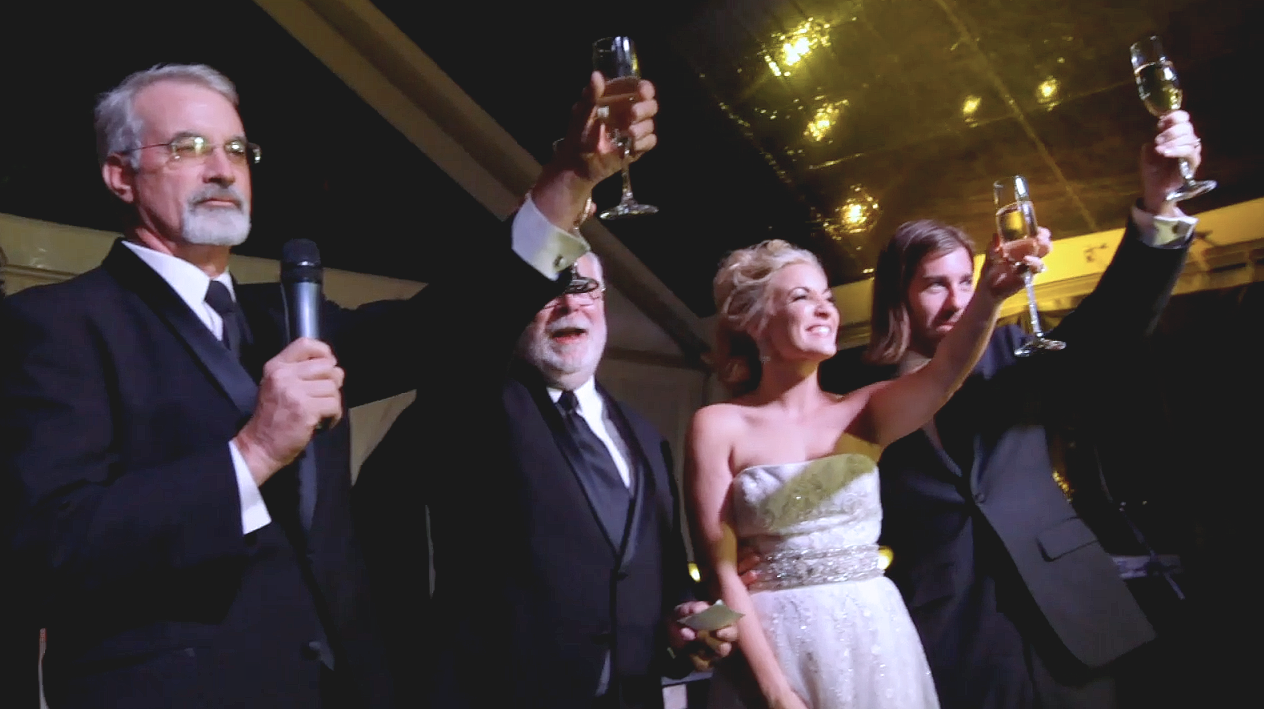 spicewood vineyard austin wedding pic 17 toast