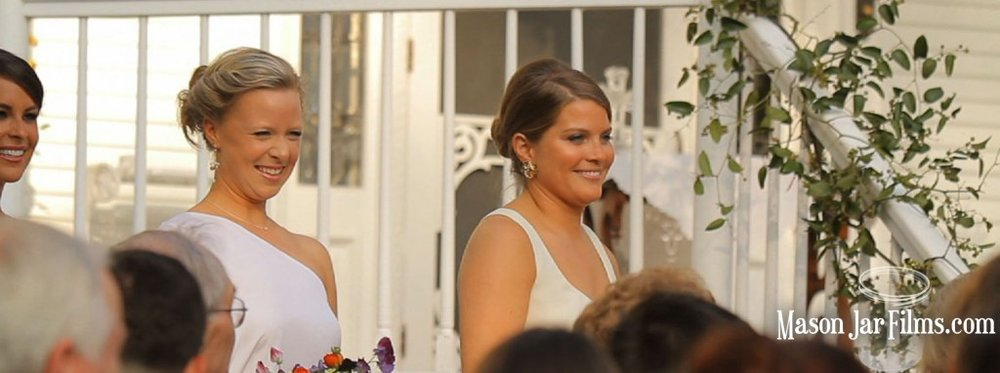 country outdoor wedding pic 03 bridesmaids