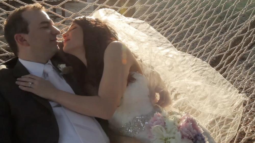 rough creek lodge jewish wedding video pic 04