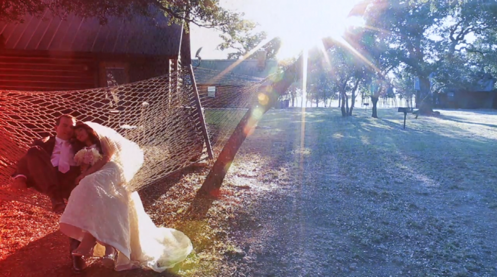 rough creek lodge jewish wedding video pic 28 bride groom