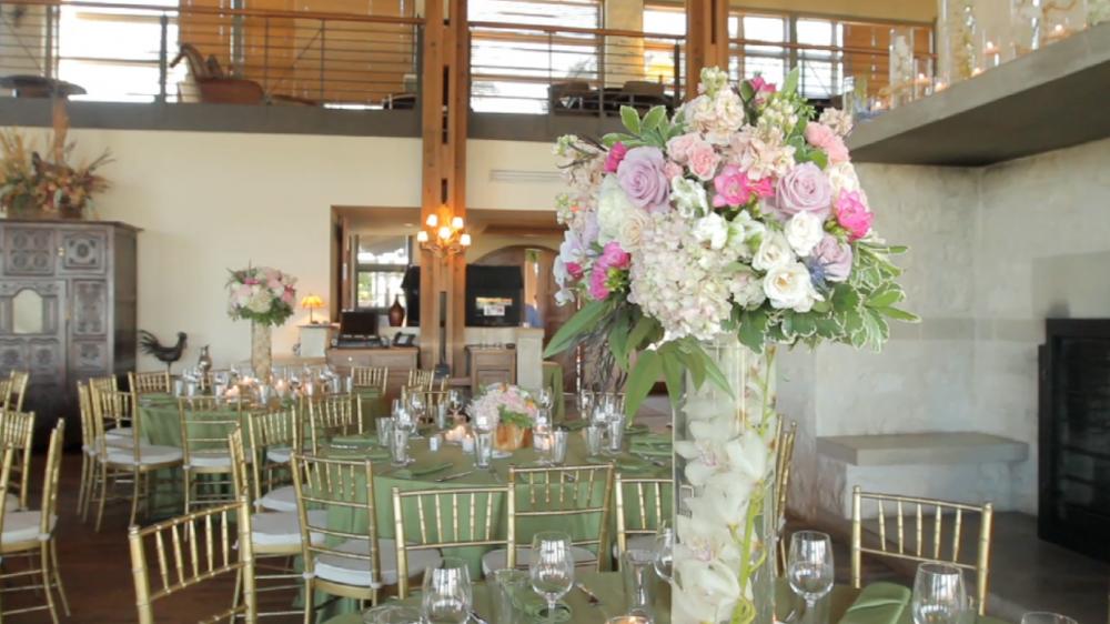 rough creek lodge jewish wedding video pic 32 table decor