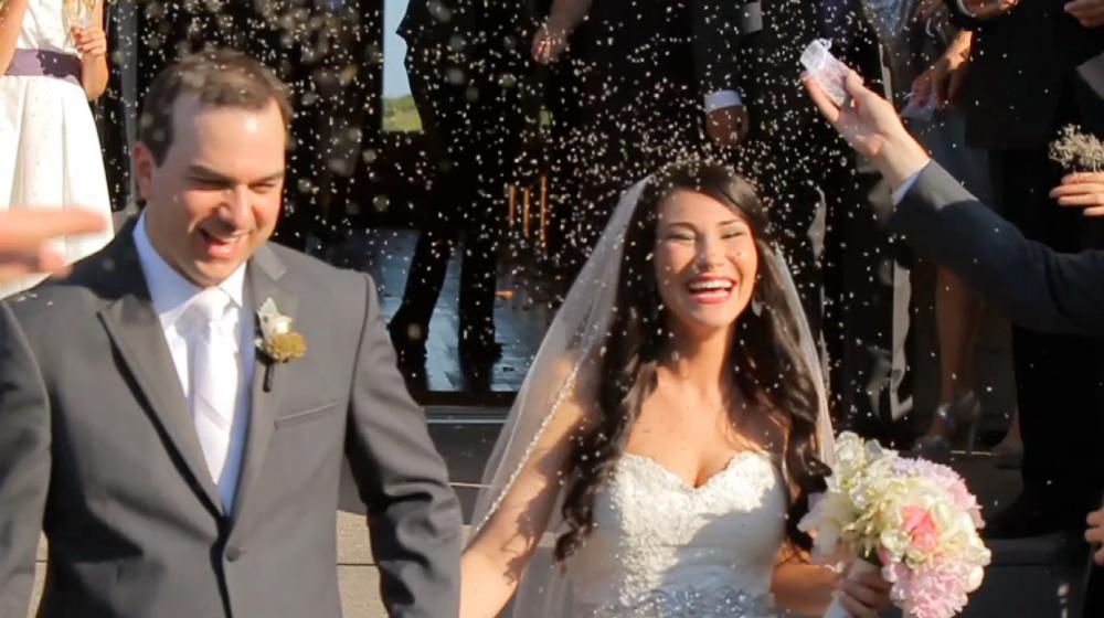 rough creek lodge jewish wedding video pic 43 bride groom