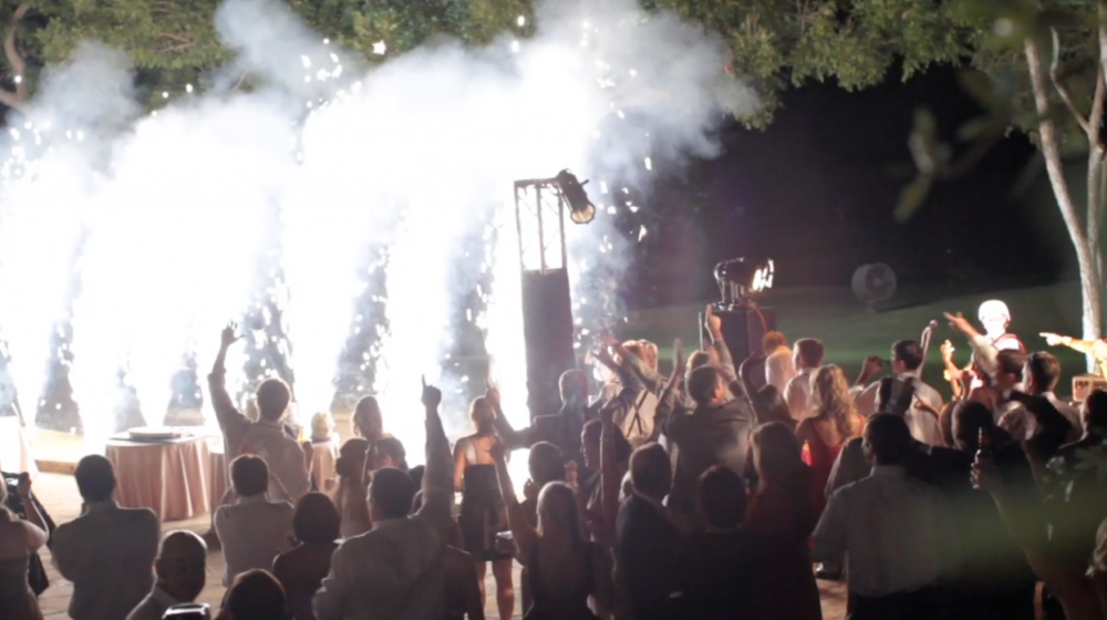 Escondido Clink Events Austin Wedding Video Pic 11 fireworks