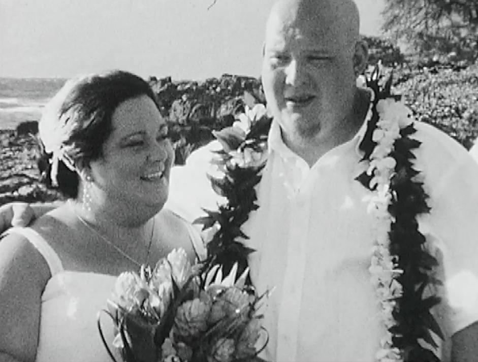 Maui Hawaii Grand Wailea Destination Wedding Pic 25 ceremony beach side
