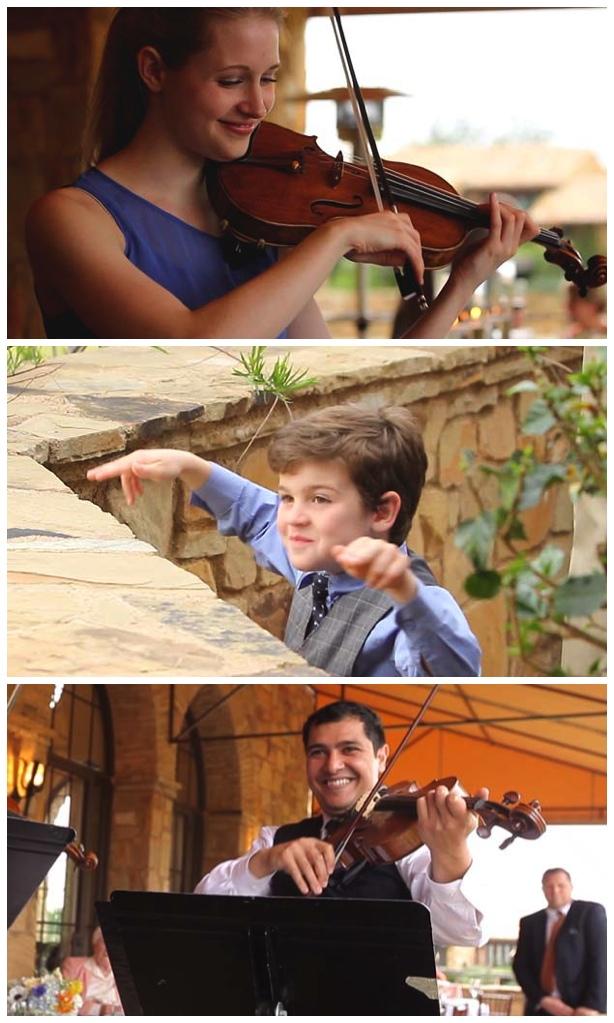 dallas string quartet horseshoe bay wedding video pic