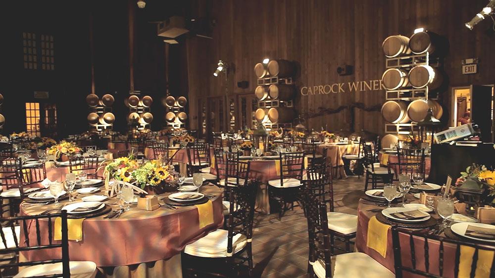 lubbock caprock winery church wedding photo 31