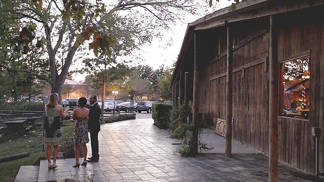 safari texas ranch rustic elegant wedding video picture 04