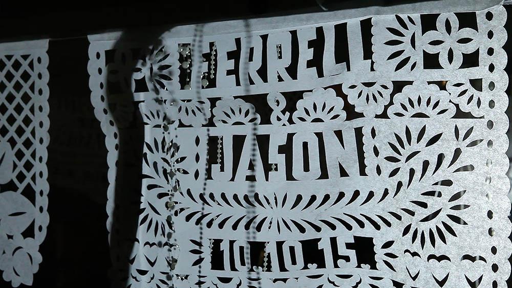Escondido Papel Picado Paper Lace Wedding by Brock and Co 25