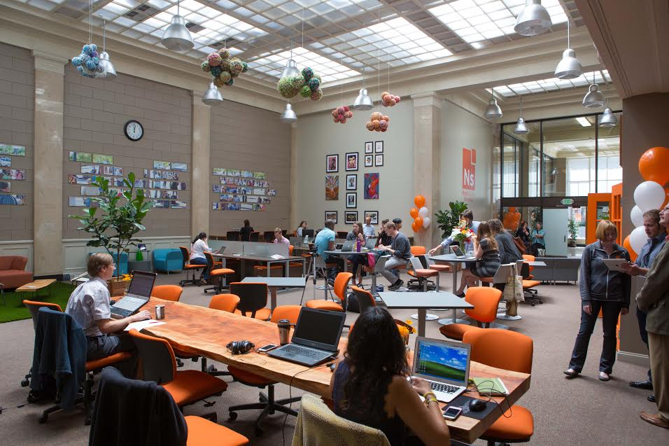 Berkeley has 10 co-working spaces, which together with the UC campus, serve as an incubator for many local start-up businesses.