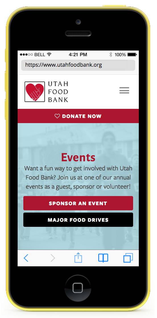 Utah Food Bank Mobile
