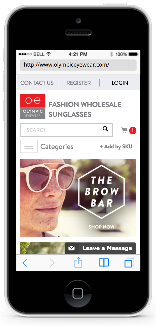 olympiceyewear mobile