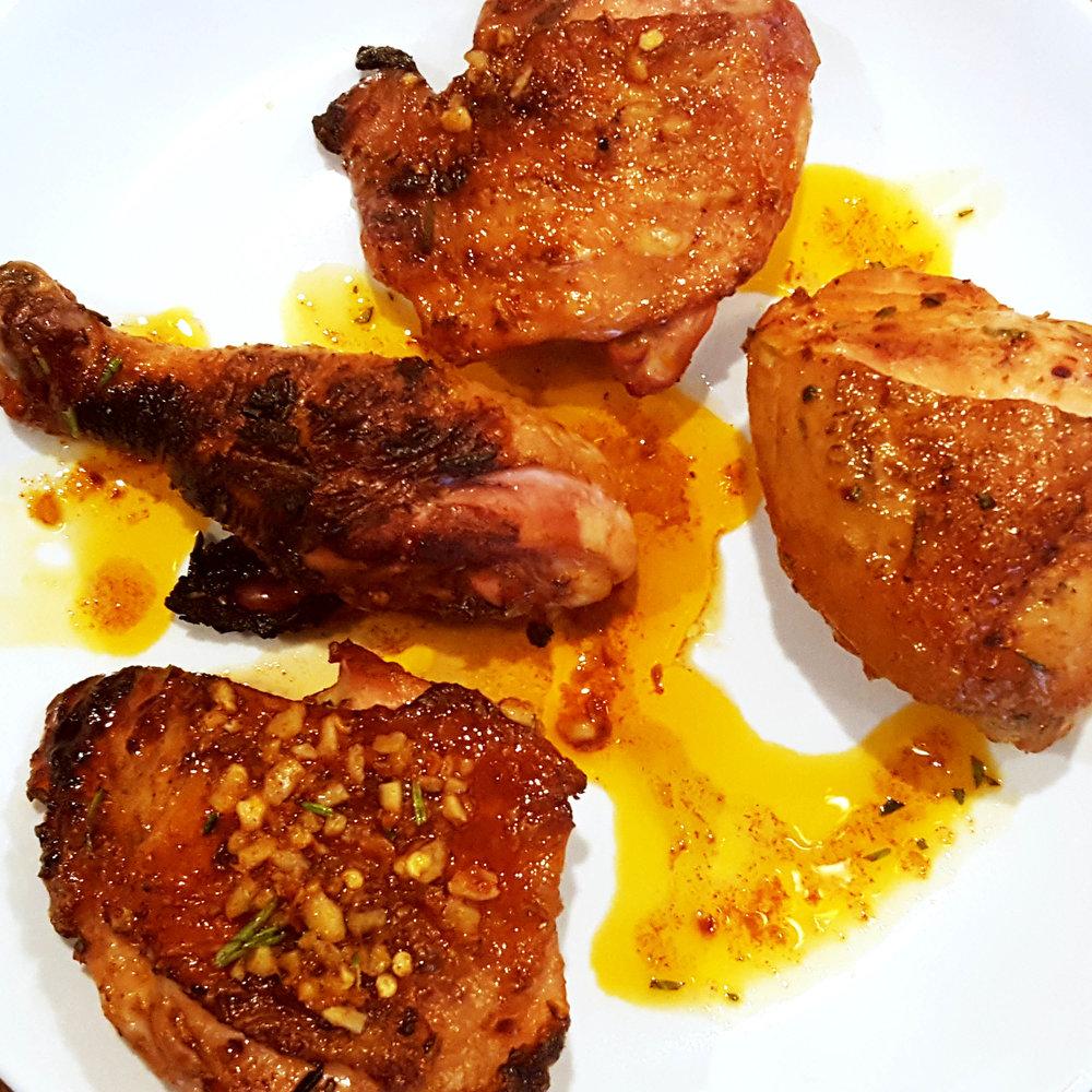 Chicken Diavalo