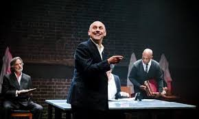 Joseph Alessi in The Plague (Arcola)