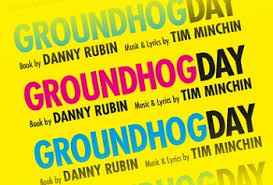 Ste Clough in Groundhog Day (The Old Vic)